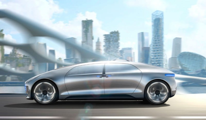 Cars of the future - Mercedes F015