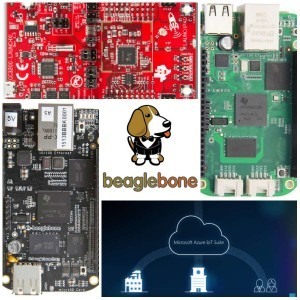 SimpleLink™ Wi-Fi® CC3200 wireless MCU LaunchPad™ kit and Sitara™ AM335x processor-based BeagleBone Black and BeagleBoard Green evaluation kits are verified for Microsoft Azure Certified for IoT