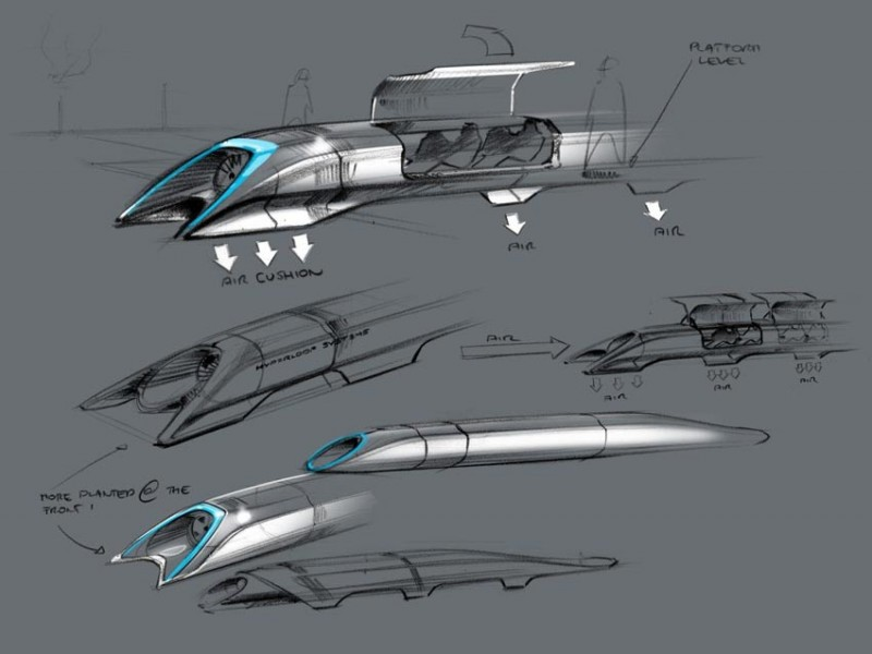 Cars of the future - Hyperloop Alpha