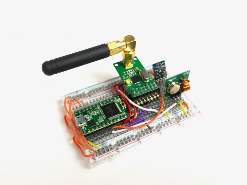 Rolljam - a device that can be used to hack into cars.