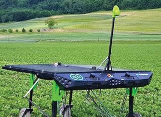 Smart weeding robot
